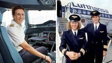 Pilotinnen bei der Lufthansa: