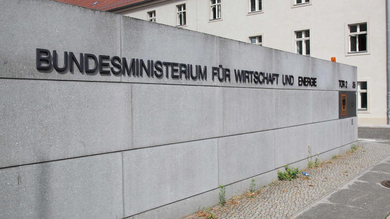 Das Bundesministerium für Wirtschaft und Energie in Berlin