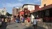 Die berühmte Schinkenstraße auf Mallorca