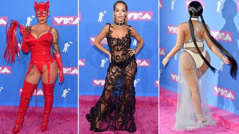Stylewatch MTV Awards: Peitschen, Putzlappen, Popos: Der Gipfel des schlechten Geschmacks