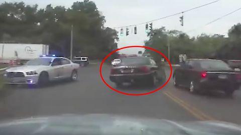 USA: Verdächtiger in Ohio flüchtet mit Polizei-Streifenwagen