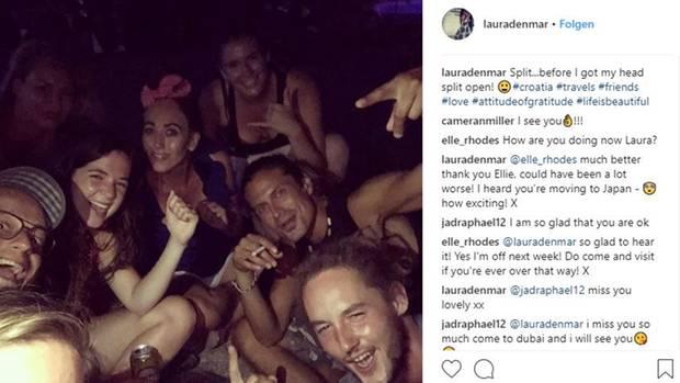 Touristin Laura Denmar wurde in Kroatien schlimm in ihrem Hostel verprügelt