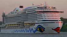"""Kreuzfahrtschiff """"AIDAprima"""" belegt den dritten Platz."""