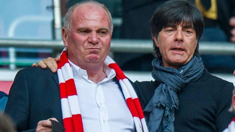 Bei Wontorra: Uli Hoeneß wettert gegen Jogi Löw und Mesut Özil