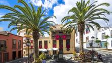 Die Plaza de La Alameda inSanta Cruz de la Palma