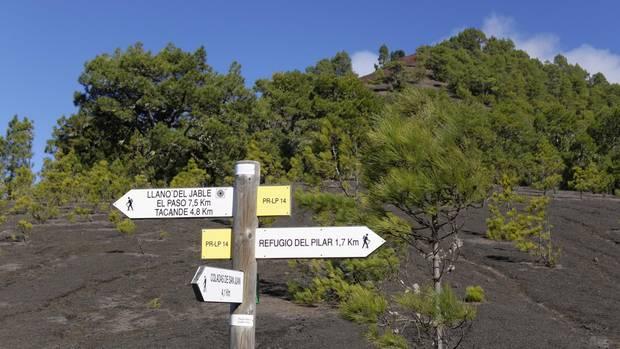 Die Insel La Palma bietet ein dichtes Wegenetz für Wanderer von 1000 Kilometern Länge.