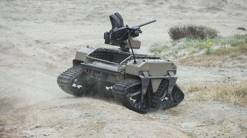 Auch die Marines arbeiten an kleinen autonomen Kampfmaschinen.