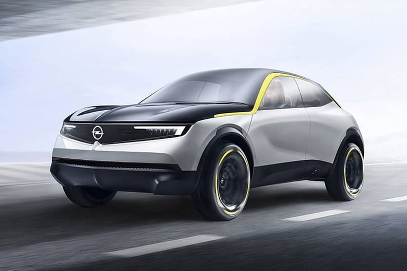 Der Opel GT X Experimental ist nur 1,53 Meter hoch
