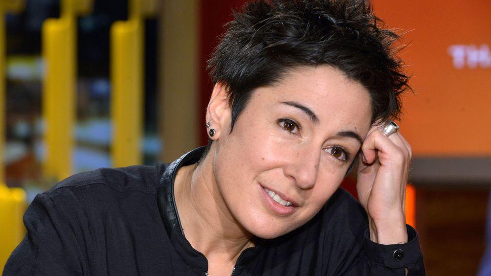 """Dunja Hayali muss bei ihren Gästen für das ZDF-""""Sportstudio"""" Abstriche machen"""