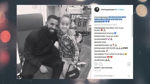 Drake überrascht Elfjährige zum Geburtstag im Krankenhaus