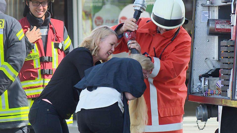 Nachrichten aus Deutschland: Feuer in Supermarkt in Bremen Stuhr