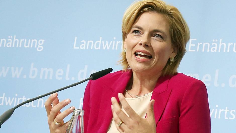Landwirtschaftsministerin Klöckner will den Bauern gut die Hälfte der Schadenssumme von geschätzten 680 Millionen Euro ersetzen