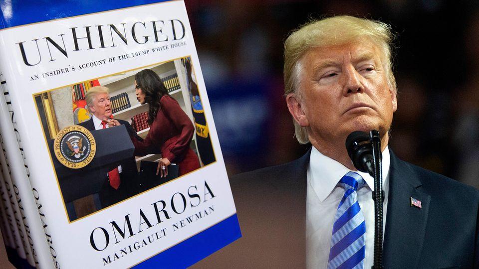 """""""Angst - Trump im Weißen Haus"""": Neues Trump-Enthüllungsbuch - die zwölf bizarrsten Episoden"""