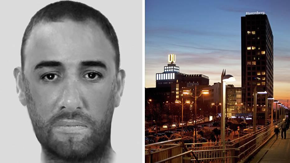 Phantombild des mutmaßlichen Serienvergewaltigers, Dortmund