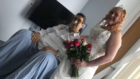 Bristol: Ehemann stirbt nur 13 Stunden nach seiner Hochzeit