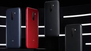 Das Xiaomi Poco F1 gibt es in mehreren Farben.