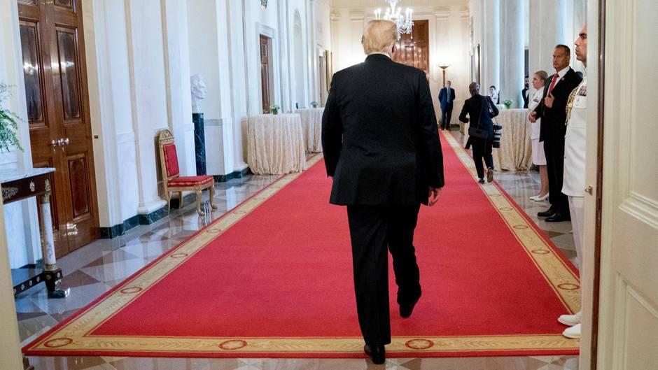 wie lange bleibt trump präsident