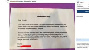 Reddit-Post: Begründung der Lehrerin, warum sie ihren Schülern keine Hausaufgaben mehr aufgeben möchte