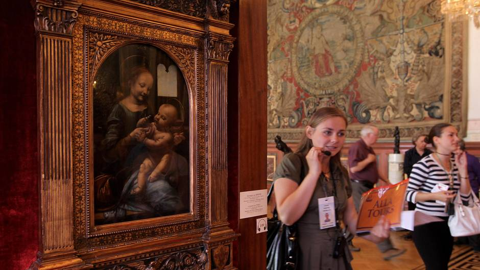 """""""Madonna mit der Blume"""" von Leonardo da Vinci"""