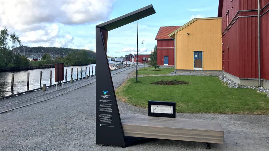 """So sehen die neuen """"Smart-Bänke"""" in Norwegen aus"""