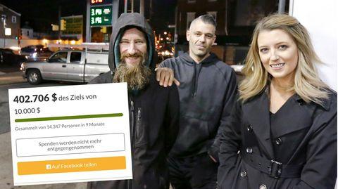 USA: Trotz 400.000 Dollar obdachlos, weil seine Helfer ihm sein Geld nicht geben wollen