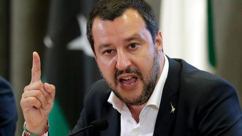 Gegen Matteo Salvini soll wegen Freiheitsberaubung von Flüchtlingen ermittelt werden