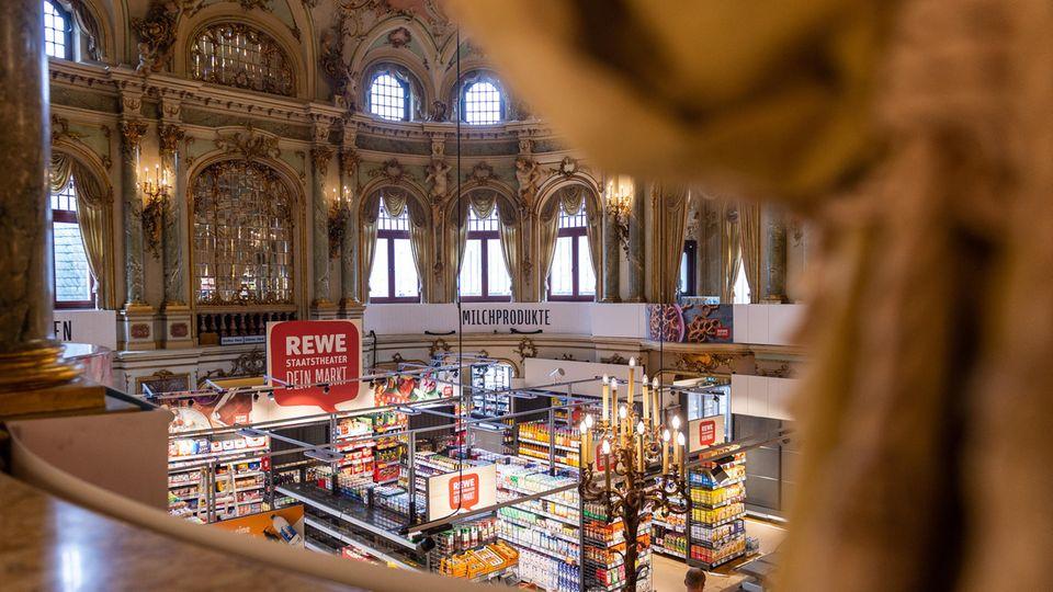 In so einer Atmosphäre macht Einkaufen noch viel mehr Spaß.