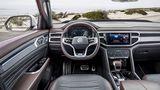 Das Cockpit des VW Atlas Tanoak ist ansehnlich