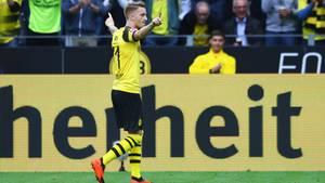Marco Reus feierte mit Dortmund einen gelungenen Saison-Einstand