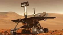 """Der Mars-Rover """"Opportunity"""" von der NASA  im Einsatz"""