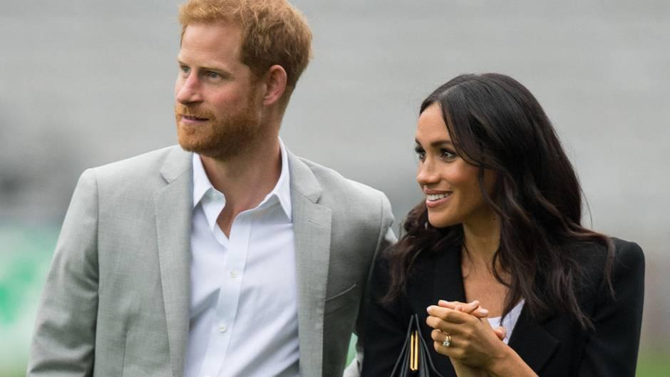 Prinz Harry und Meghan werden Eltern