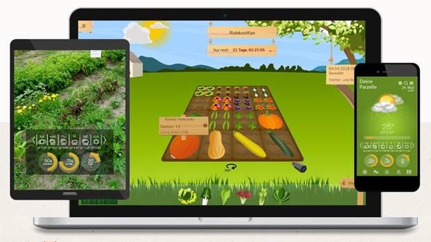 Screenshot von IPGarten.de