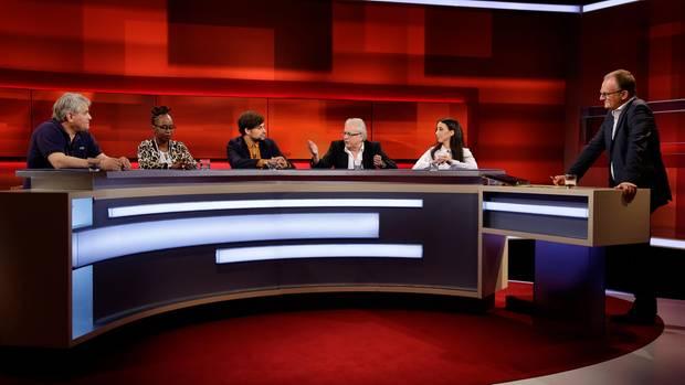 """Bei """"Hart aber fair"""" diskutierten die Gäste über das Thema Rassismus"""