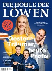 """""""Die Höhle der Löwen"""" zum Lesen: Die zweite Ausgabe des Magazins zur Sendung erscheint am 13.November 2018. Hier können Sie das Heft portofrei bestellen."""