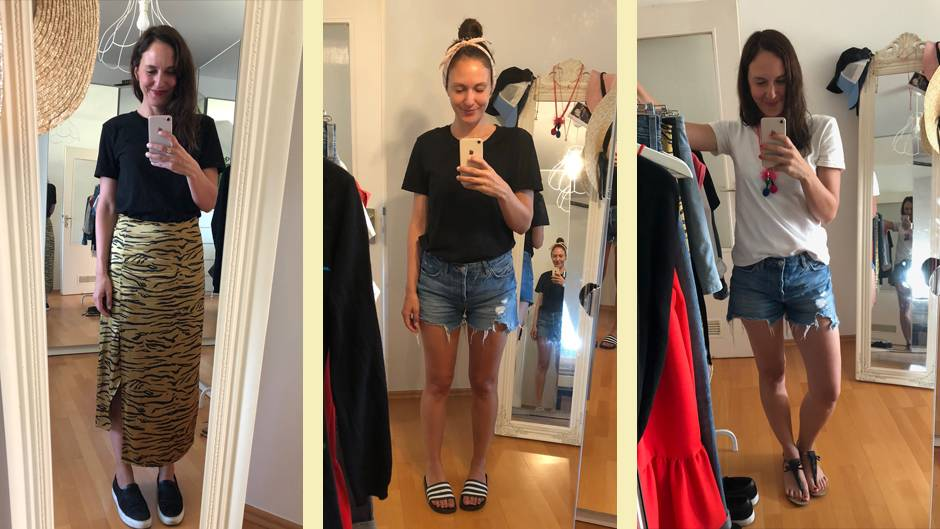 5ac21342f0e781 Anti-Fast-Fashion: Ich habe eine Woche lang nur 12 Teile getragen | NEON