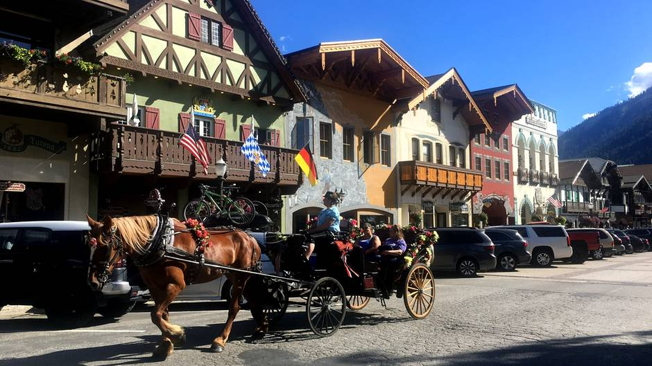 Leavenworth in den USA