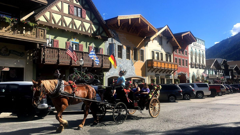 Leavenworth in den USA
