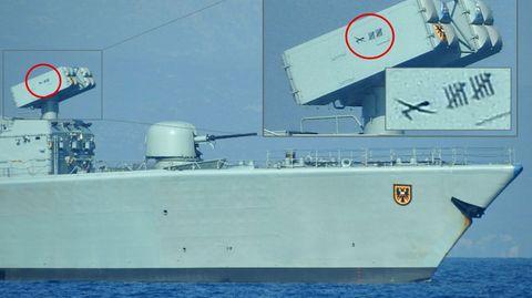 Marine: Deutsche Fregatte brüstet sich mit Abschüssen. Wen hat die Marine vom Himmel geholt?