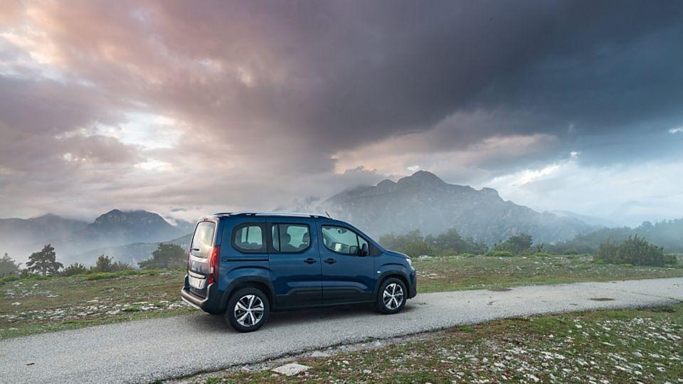 Peugeot Rifter Puretech 110 - der Normverbrauch liegt bei 5,7 Litern