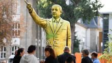 Erdogan aus Gold