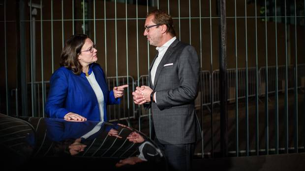 Andrea Nahlesund Alexander Dobrind haben den Streit um das Rentenpaket beigelegt