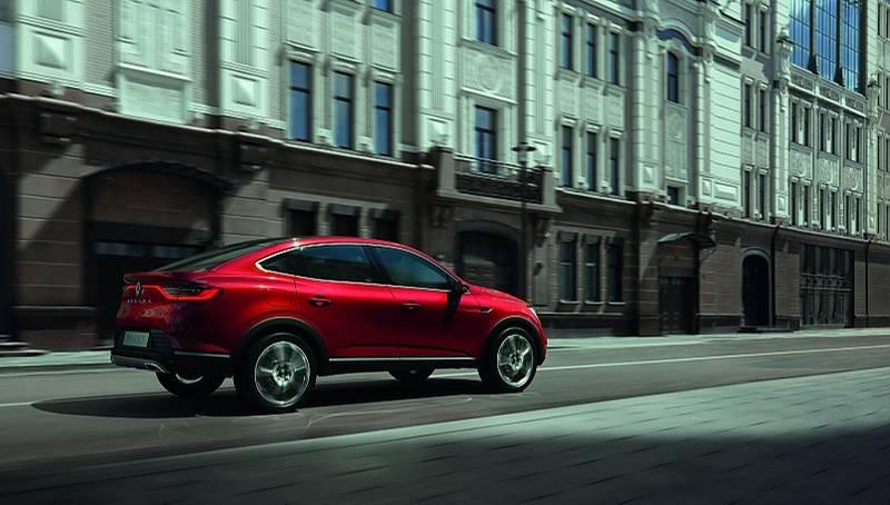Die Studie des Renault Arkana nimmt das Design des Serienmodells schon zu 90 Prozent vorweg