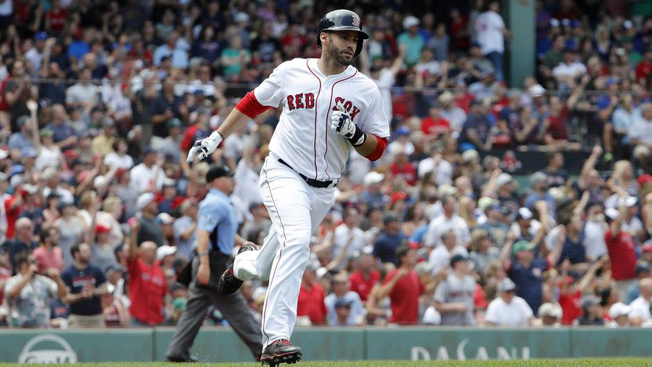 Baseballer J.D. Martinez sorgt nicht nur auf dem Spielfeldfür Schlagzeilen