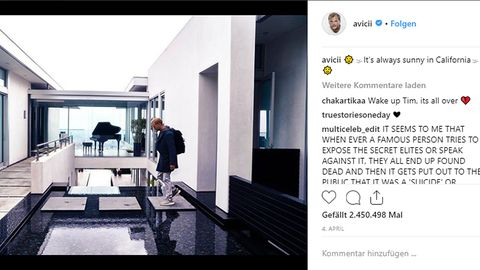 Star-DJ starb mit 28: Vier Monate nach seinem Tod: Villa von Avicii wurde verkauft