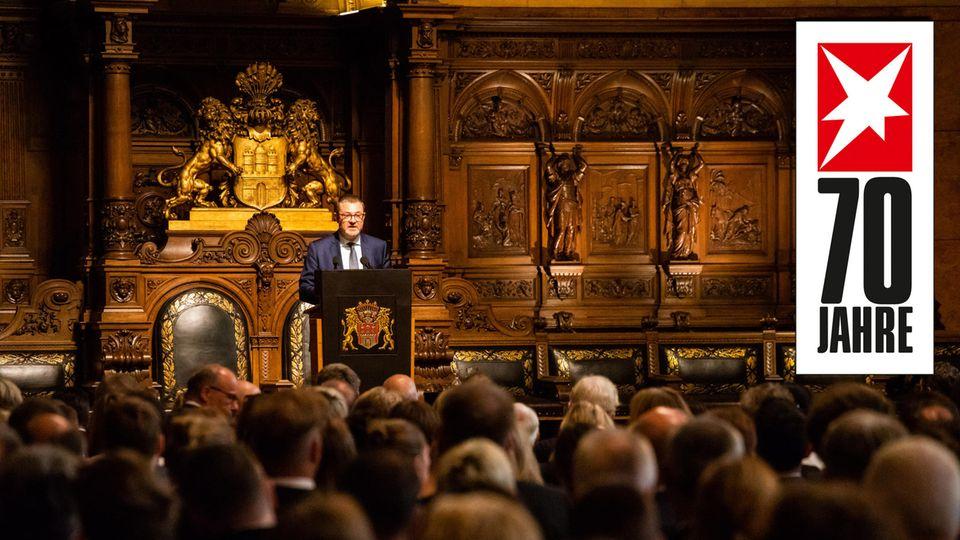 70 Jahre stern: Die Rede von stern-Chefredakteur Christian Krug in Hamburg