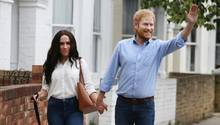 PR-Aktion: Meghan Markle und Prinz Harry laufen ohne Schutz durch London