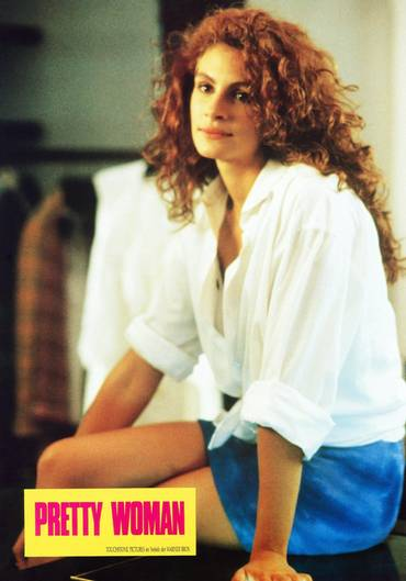 "Julia Roberts in ""Pretty Woman"""
