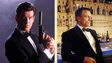 Pierce Brosnan und Daniel Craig als James Bond