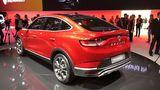 Die Studie Renault Arkana kommt dem SUV-Coupé, das nächstes Jahr in Serie geht, schon sehr nahe