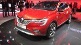 Der Arkana trägt das bekannte Renault-Gesicht inklusive Rhombus